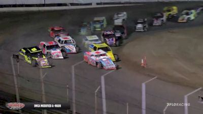 Feature Replay | IMCA Modifieds Saturday at Merced