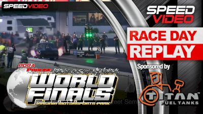 Brian McGee Blows the Doors Off in Pro Street at the PDRA World Finals