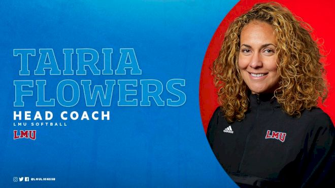 LMU Names Olympic Gold Medalist Tairia Flowers Head Coach Of Lions Softball