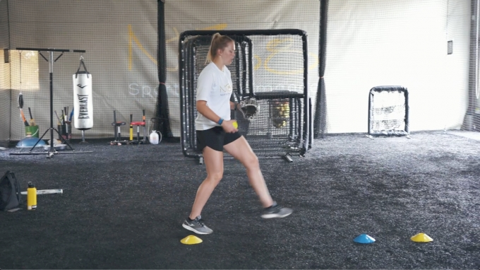 Stride Length Pitching Drill