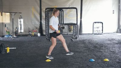 Stride Length Pitching Drill | Samantha Show