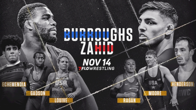 picture of FloWrestling: Zahid vs Burroughs