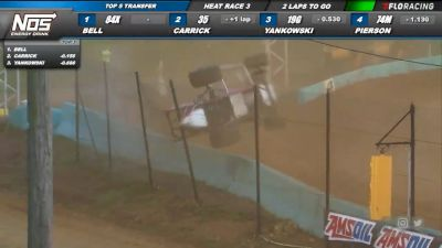 8. Pierson Catches A Wheel & The Fence At Action Track USA