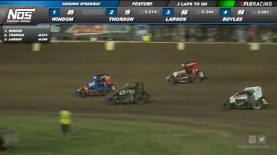 3. Thorson Borrows Engine, Owns Victory At Kokomo