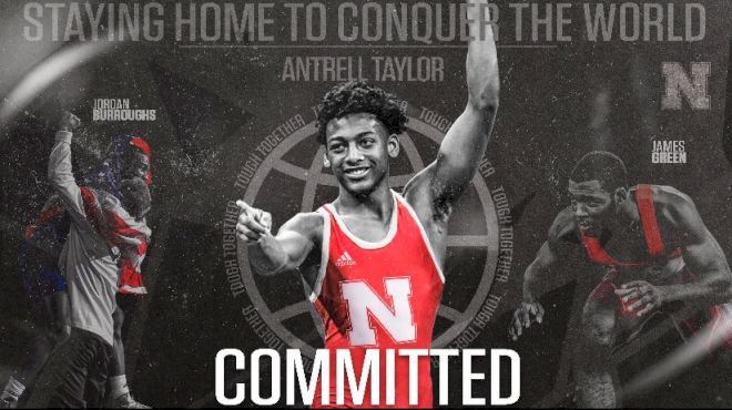 Top-20 2022 Big Boarder, Antrell Taylor, Commits
