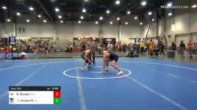 197 lbs Prelims - Greg Bulsak, Clarion vs Tanner Orndorff, Utah Valley