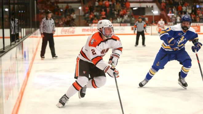 Bowling Green Defenseman Will Cullen Is Ready To Be The Blue Line Star