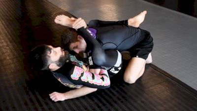 Geo Martinez Teaches Rubber Guard Entry & Gogoplata Finish
