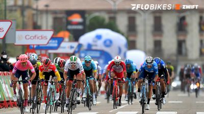 Final 2K: Stage 16 Sprint At La Vuelta