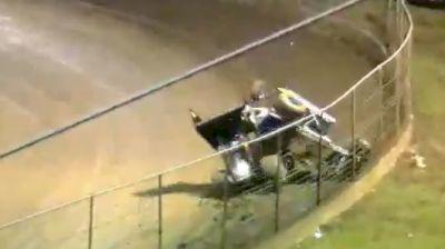 Pole Scramble Crash | USCS Flip Flop 50 at Riverside Int'l