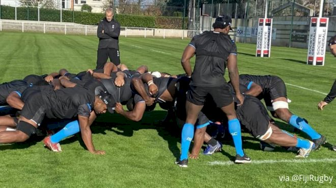Upsets On Fiji's Mind For Autumn Nations Cup