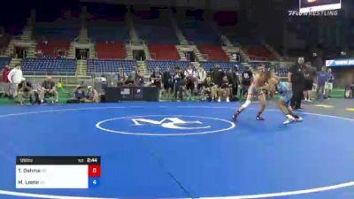 126 lbs Consi Of 8 #1 - Trason Oehme, South Dakota vs Maximilian Leete, Massachusetts