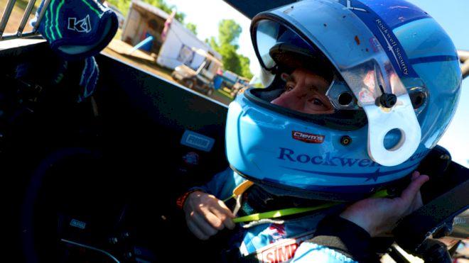 Seavey Leads Western World Sprint Practice