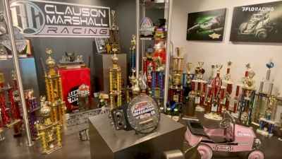 Driller Season: Clauson Marshall Racing Trophy Room