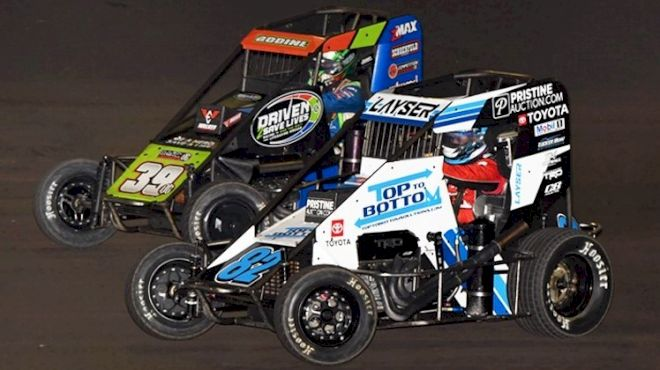 USAC Midget Title Race Converges on Bakersfield