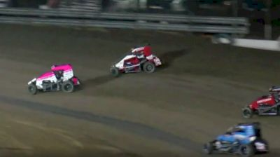 Feature Replay | USAC Midgets Friday at Merced