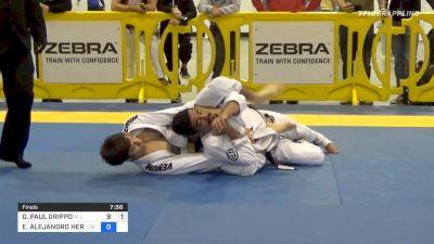 GIANNI PAUL GRIPPO vs EMILIO ALEJANDRO HERNANDEZ RODRI 2020 Atlanta International Open IBJJF Jiu-Jitsu Championship