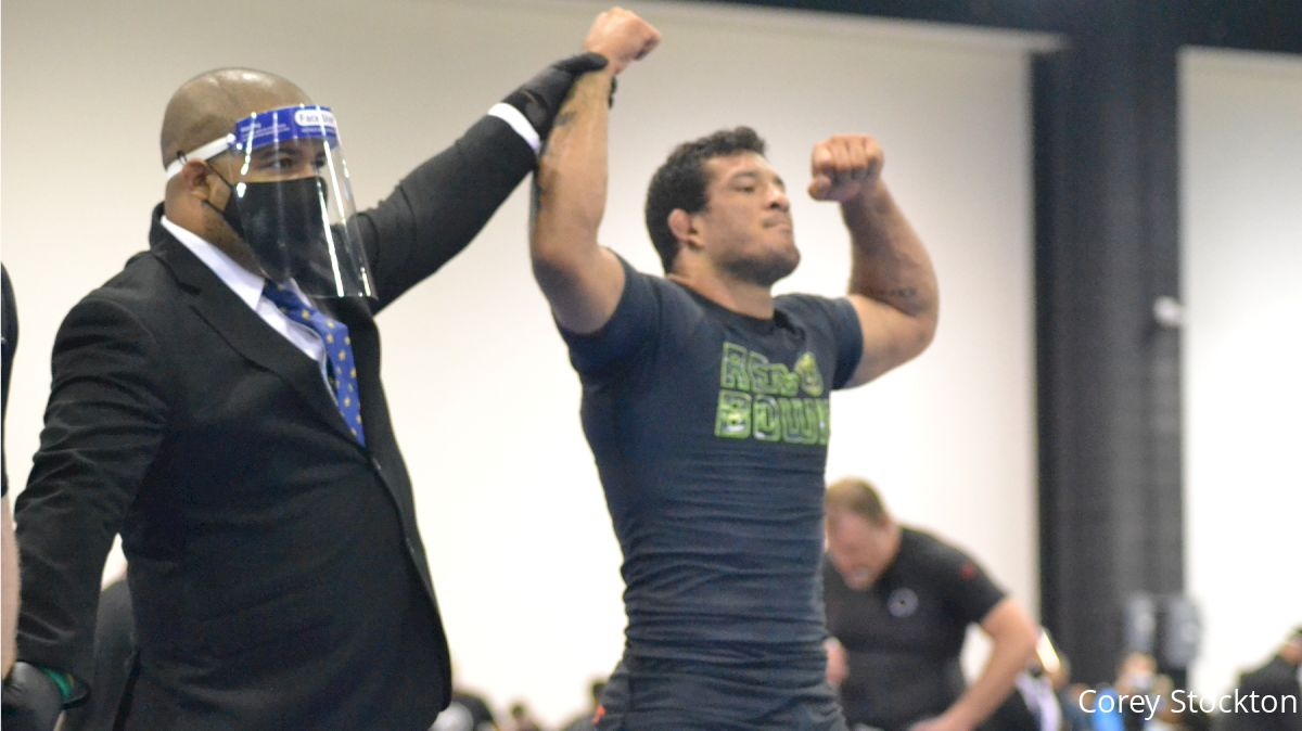 """Lucas """"Hulk"""" Barbosa Looks To Build On Nearly Perfect Record At No-Gi Pans"""