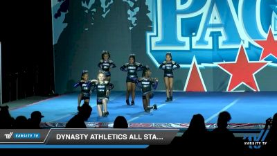 Dynasty Athletics All Stars - Legacy [2020 L1 Youth - D2 - Small - A Day 1] 2020 PacWest