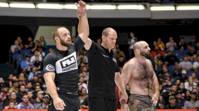 "Jon ""Thor"" Blank Was A Part-Time Grappler When He Made The ADCC Semifinals"