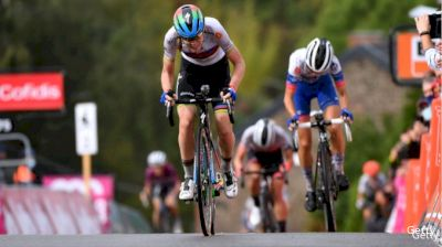 Final Climb: World Champ Conquers Mur de Huy In Flèche Wallone