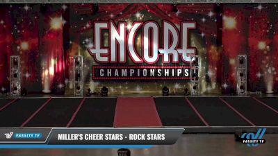 Miller's Cheer Stars - rock stars [2021 L2 Junior - D2 Day 1] 2021 Encore Championships: Pittsburgh Area DI & DII