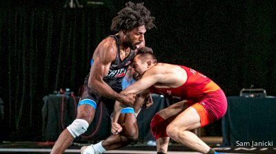 57 kg Semifinal - Vitali Arujau, Spartan Combat RTC vs Nahshon Garrett, NJRTC/SERTC