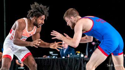 57 kg Final - Nahshon Garrett, NJRTC/SERTC vs Seth Gross, Cliff Keen Wrestling Club