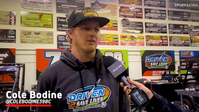Mechanic and Driver Cole Bodine Using Offseason To Prep For Tulsa