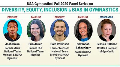 USA Gymnastics Announces LGBTQ-Focused December 16 Panel On DEIB