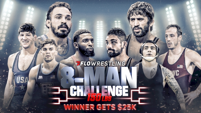 picture of 2020 FloWrestling 8-Man Challenge: 150 lbs