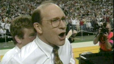 Gable's Reaction To Winning In 1997