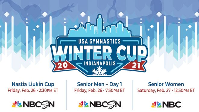 USA Gymnastics Announce 2021 Winter Cup, Elite Team Cup & Nastia Liukin Cup