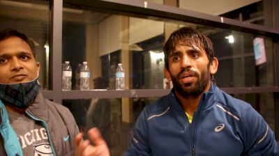 If Training Is Good, Bajrang Could Be In The US Long Term