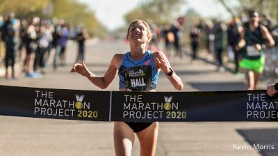 Hall Vaults To #2 In U.S. History, Hehir Prevails At The Marathon Project