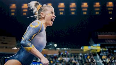 Michigan Gymnast Annie Maxim: The Power Of Proving Yourself