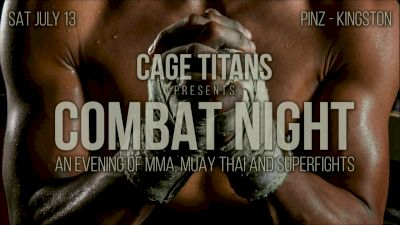Full Replay - Cage Titans: Combat Night