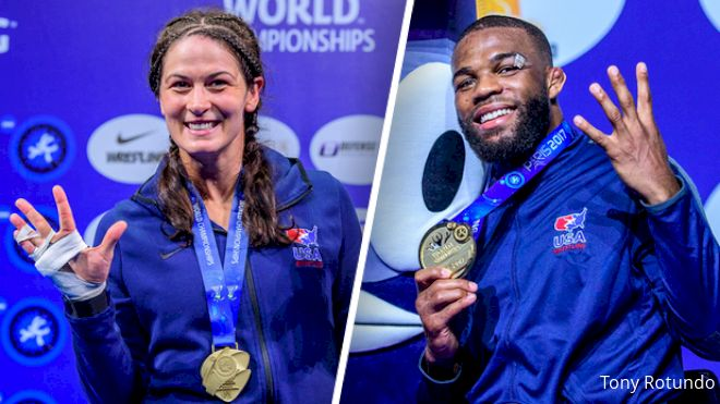 Jordan Burroughs vs David Taylor Card By The Numbers
