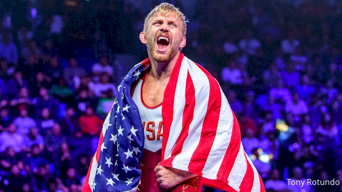picture of Kyle Dake's 2019 World Title run
