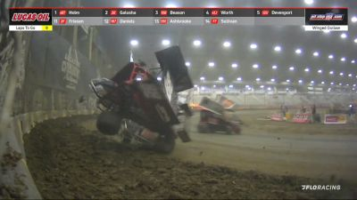Thrills & Spills Friday At The Lucas Oil Tulsa Shootout