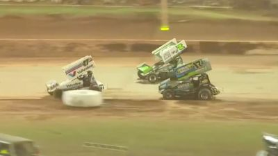 Feature Replay   Super Seven Sprint Cars at Archerfield Speedway