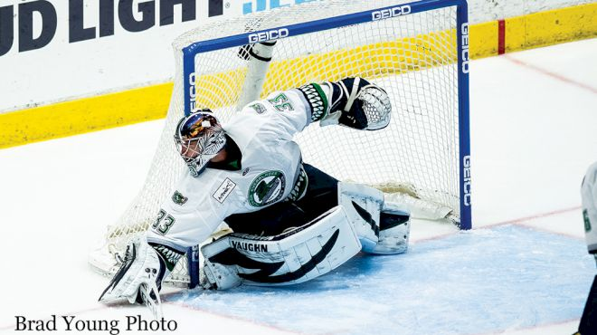 Cam Johnson Leads Deadly Florida Everblades Goaltending Tandem