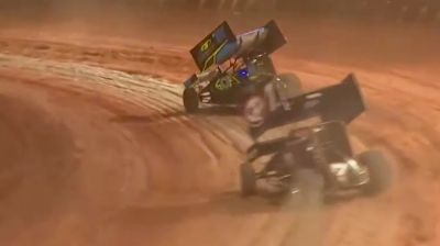 Feature Replay   Super Seven Sprint Cars at Maryborough Speedway