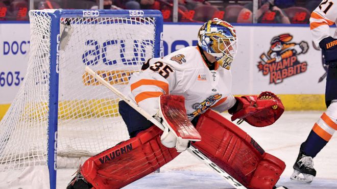 Goalie Of The Week Ryan Bednard Talks About Start With The Swamp Rabbits