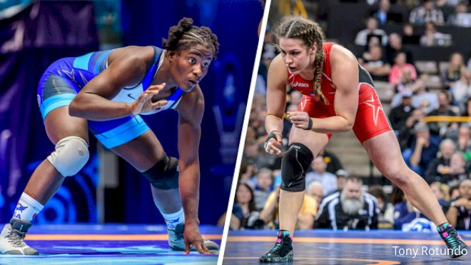 Adeline Gray vs Tamyra Mensah-Stock Is The Women's Match Of The Year