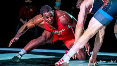97 kg Flo - J'den Cox, TMWC vs Hayden Zillmer, Gopher WC