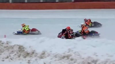 Feature Replay   Vintage World Championship Snowmobile Derby Final