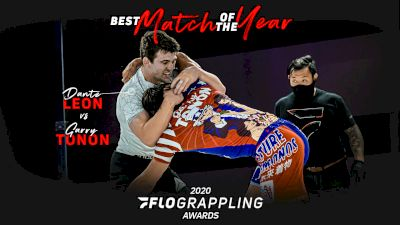 Dante Leon Shares 2020 FloGrappling Match Of The Year Award