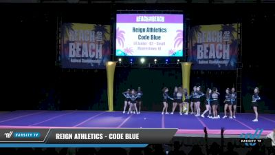 Reign Athletics - Code Blue [2021 L4 Junior - D2 - Small Day 1] 2021 ACDA: Reach The Beach Nationals