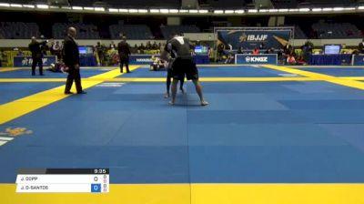JARED DOPP vs JACKSON DOS-SANTOS World IBJJF Jiu-Jitsu No-Gi Championships
